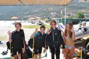 young divers