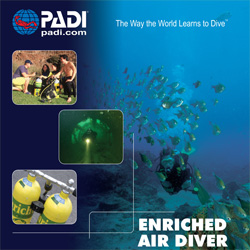 PADI Enriched AIr Specialty Diver