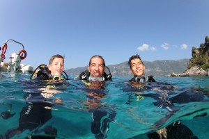 Family dive